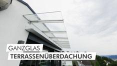 Ganzglas-Terrassendach