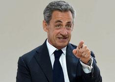 Nicolas Sarkozy verseau