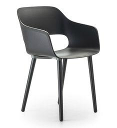 Babila sillón patas de madera 2735 pedrali www.lacadira.com