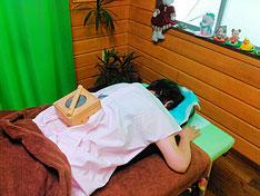 夜間頻尿改善の温灸
