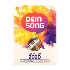 Dein Song 2020 für Klavier/Gesang/Gitarre KCM 8