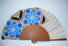Idée souvenir Séville, eventail artisanal, acheter éthique à Séville. Sévilla