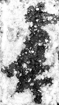 Mäuserich im Schnee
