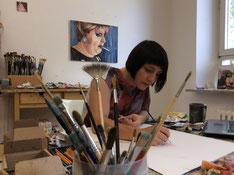 Basis-Coaching Kunst - Arbeit im Atelier