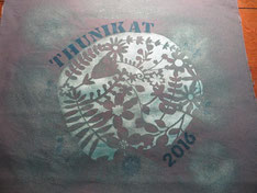 "Originalstoff mit ""Logo"""