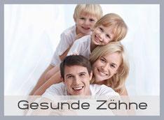 Gesunde Zähne für Kinder und Erwachsene mit Prophylaxe und Zahnreinigung in München-Laim (© Deklofenak - Fotolia.com)