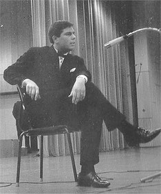"""Um 1967, Konzertsaal Solingen, bei """"Jugend tanzt"""""""