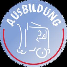 Button Ausbildungsplatz zum Berufskraftfahren bei Bitter KG in Varrel bei Sulingen