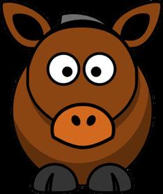 Una cabra y un asno comían juntos en el establo