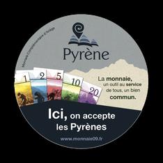 Le Pyrène, monnaie locale de l'Ariège
