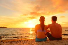 Paar am Abende am Strand, Albicker Coaching, coach-4you