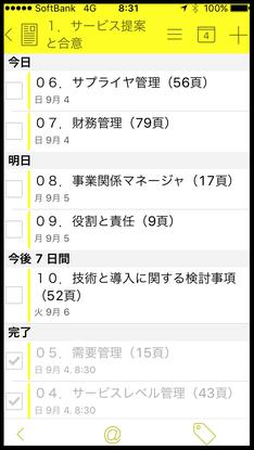 ToDoアプリ勉強法(リスト表示)