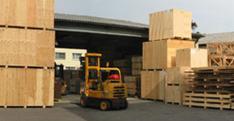 Exportkisten aus Holz für den Versand