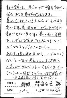 静岡県在住40代女性