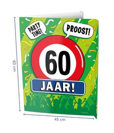 Raambord 60 jaar € 8,95 OP BESTELLING LEVERBAAR