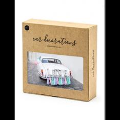Autodecoratie Set – Love – Zilver €19,95