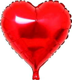 Folieballon Hart rood € 1,50  46 cm
