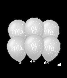Wedding balloons Mr&Mr €2,50 6stuks