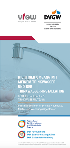 Sauberes Trinkwasser - bei Trinkwasserhygiene - Ingenieurbüro Tim Fischer
