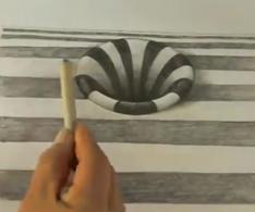 como dibujar un hoyo conico en 3D invertirenfamilia.com