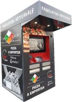 French Manufacturer Of Pizza Vending Machines Resto Clock