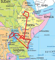 Ostafrika