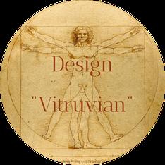 "Jimdo Creator Template ""Vitruvian"" (Unikat)"