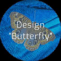 "Jimdo Creator Template ""Butterfly"" (Unikat)"