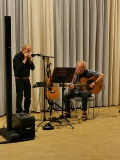 Peter Froese (links) und Kalle Johannsen. Foto: Anke Dethlefsen