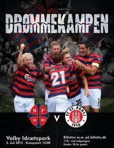 f6f962cf5df 5. juli en stemningsmættet kamp mellem den populære Hamburger fodboldklub St.  Pauli og BK Frem, der har dybe rødder i Københavns arbejderkvarter Valby