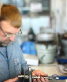 Jeder Reparatur geht eine sorgfältige Diagnose voraus.