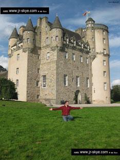 """Alleine in """"GB"""" habe ich über 350 Festungsanlagen besucht - wie hier Brodie Castle in Schottland..."""