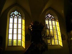 Fenster an der Südseite