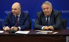 Военно-промышленная комиссия, заседание 12 февраля 2016 г., Силуанов, Фортов