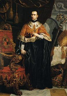 Porträt Abt Berthold Dietmayrs