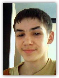 Адриан, около 14  лет, после крещения