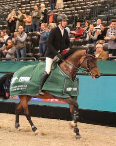 Dominik Jahn gewann mit Colin erstmals das Finale des Partner Pferd Cups. Foto: bb