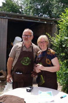 Bertrand et Fanny Fagot sont à la tête de l'exploitation Les Canardises des 3 Vallées.