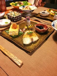 Japanese dinner platter