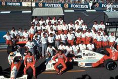 L'équipe McLaren
