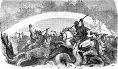 Der Kampf der untergehenden Götter; Bild: Wilhelm Wägner