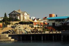 Die Waterfront von Lüderitz