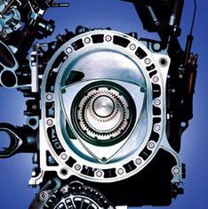 ロータリーエンジンの構造