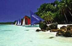 Kombireise Philippinen Inselhüpfen Manila Rundreise mit Baden Borocay Cebu Bohol