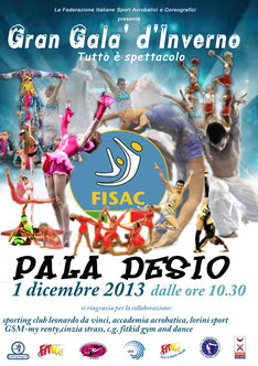 FINALE NAZIONALE DI FITKID GYM & DANCE QUALIFICAZIONE PER IL CAMPIONATO EUROPEO 2013.