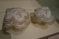 Engageants einer Robe à l'Anglaise, Bayrisches Landesmuseum. Mode des Rokoko. Foto: Nina Möller