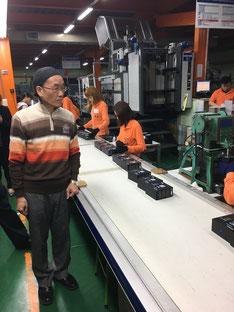 台湾工場 美正紙器の写真