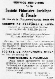 Extrait de journal du 21 décembre 1949