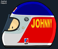 Helmet of Alain Prost  by Muneta & Cerracín