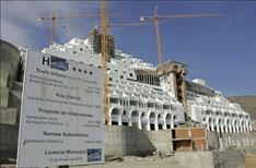 Hotelanlage illegaler Bau